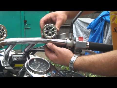 Музыка на мотоцикле своими руками