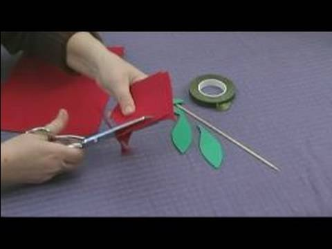 Flowers - Looking for free kids crafts? Learn how to make rose petals for foam flowers in this free video clip about easy foam crafts for kids. Expert: Karen Weisman B...