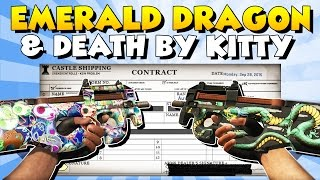 Doing more Tradeups for my Road To Dream Loadout! Today I'm going for the StatTrak P90 Emerald Dragon & Death by Kitty! :) My Twitter: https://twitter.com/Tr...