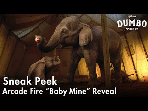 "Dumbo - Arcade Fire ""Baby Mine"" Reveal?>"