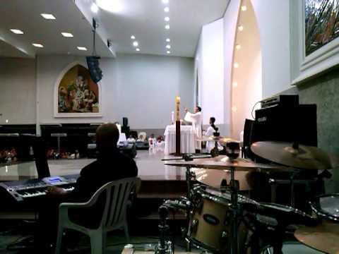 MInistério Cyriac na Paróquia Sagrada Família em Goiânia - GO com Pe. Vanilson