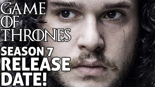 Updated video here - https://youtu.be/ia2CV7NwY9s**** Game of Thrones Season 7 release date announced. Watch now to find out when GoT season 7 ...