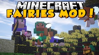 Minecraft Mods - FAIRY MOD! (Create An Army, Tame, or Battle them!)