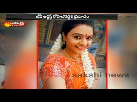 TV actress Rohini Reddy Injured Road Accident in Vijayawada