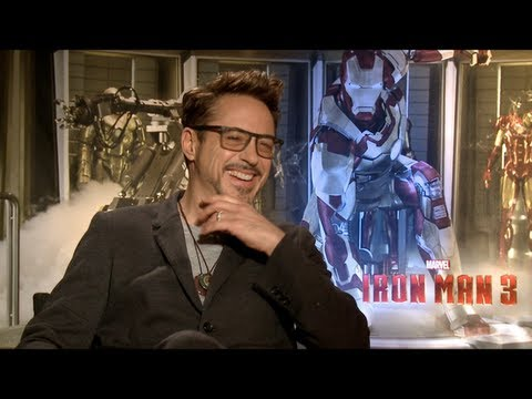 ben kingsley - Emmy winner Jake Hamilton sits down with the stars of IRON MAN 3 -- Robert Downey Jr, Gwyneth Paltrow, Ben Kingsley, Don Cheadle, Guy Pearce and Rebecca Hall...