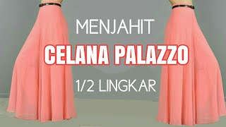 Video Menjahit celana palazzo MP3, 3GP, MP4, WEBM, AVI, FLV September 2018