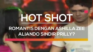 Video Romantis dengan Ashilla Zee, Aliando Sindir Prilly  - Hot Shot MP3, 3GP, MP4, WEBM, AVI, FLV Desember 2018