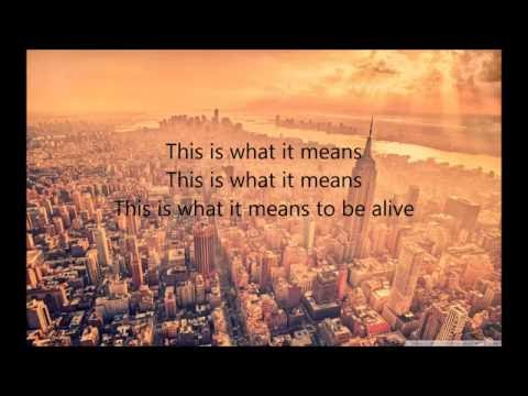 This Is What It Means (Lyrics) By: Danny Gokey