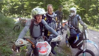 OLD CODGER DIRT RIDERS: 76 year old Paul Rodden