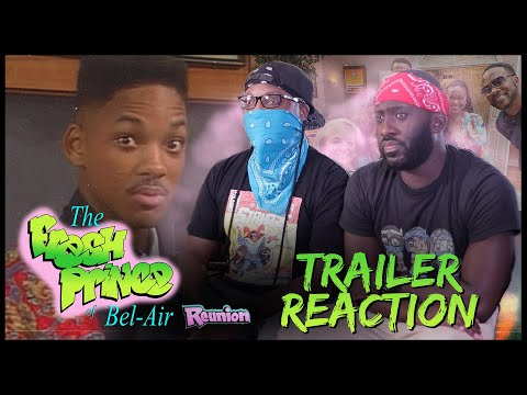 The Fresh Prince of Bel Air Reunion Trailer Reaction