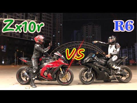 Yamaha R6 Thách Thức Kawasaki ZX10r và cái kết. | (Yamaha R6 vs Kawasaki Zx10r) - Thời lượng: 11 phút.