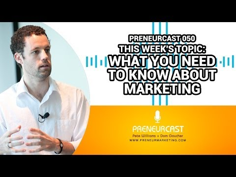 Marketing Myths and Marketing Truths [PreneurCast050]