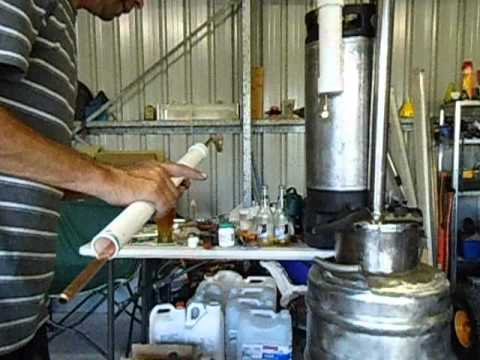 How to make a straight condenser for a still or distiller