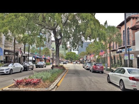 Driving Downtown - Fort Lauderdale 4K - USA