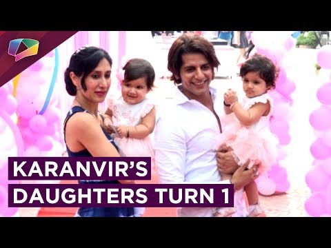Karanvir Bohra And Teejay Host Their Daughters Bir