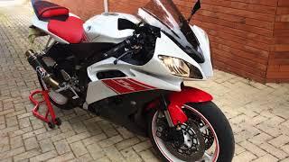 8. Yamaha R6 2008