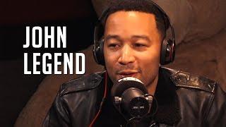 John Legend Talks Racist Trump, Kim K's Fried Chicken & Family Life!!