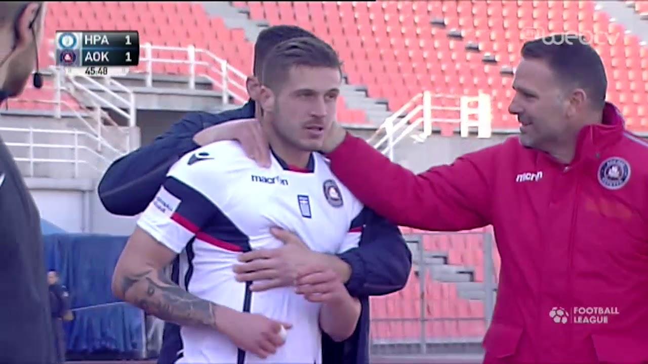Football League ΗΡΑΚΛΗΣ – ΚΕΡΚΥΡΑ 1-1 | ΓΚΟΛ | ΕΡΤ