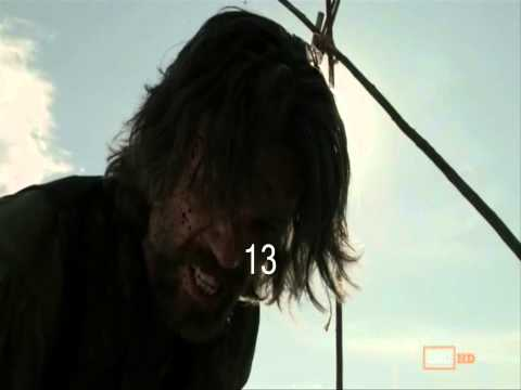 Hell On Wheels Season 1 (2011-2012) KillCount
