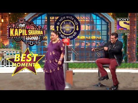 Salman और Bharti ने किया एक Famous Scene Recreate!   The Kapil Sharma Show Season 2   Best Moments