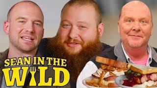 Video Action Bronson and Sean Evans Have a Sandwich Showdown, Judged by Mario Batali | Sean in the Wild MP3, 3GP, MP4, WEBM, AVI, FLV Oktober 2018