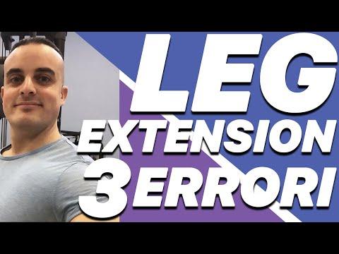 Leg Extension: i 3 Errori da Evitare