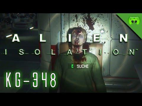ALIEN ISOLATION # 24 - KG-348 «» Let's Play Alien Isolation PC | Full HD