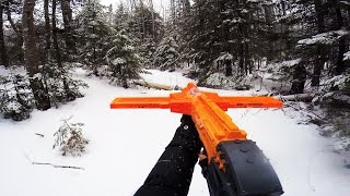 Today Goober Media Brings to you Nerf War: Winter Attack (real life). In this Nerf War, Anna and Chris have a REAL Nerf Battle with some sweet blasters. Comment below who you think will win!Follow me in Instagram!Instagram:  http://instagram.com/annakouskyGoogle Plus:https://plus.google.com/u/0/+AnnaKousky/posts/HoevMPHZQQcMy Other Channel: www.youtube.com/user/AnnaKousky