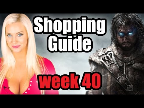 Guide - It's a big week for gamers with Shadow of Mordor, Super Smash Bros. and Forza Horizon 2 hitting stores. Let Tara give you the full list of game releases in the Shopping Guide! ▻ Follow us...
