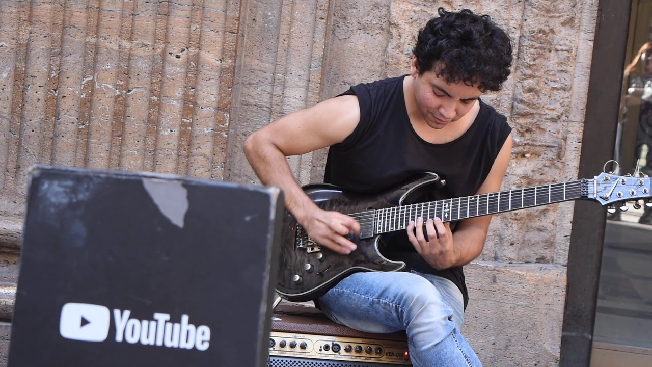 Bryan Adams – Heaven – Electric Guitar version – ON THE STREET – Cover