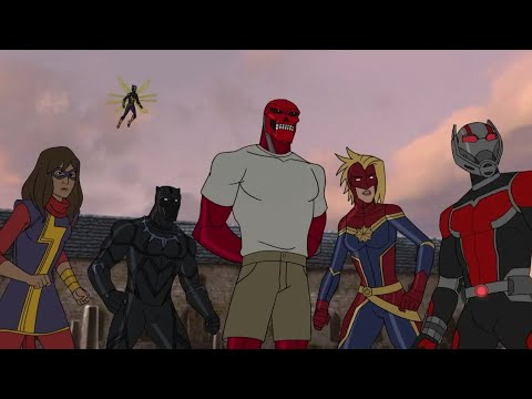 Avengers assemble season 4 ep 4 part 4 (Sleeper Awake)