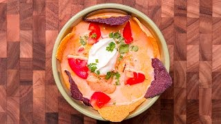 Customize & buy the Tasty Cookbook here: http://bzfd.it/2fpfeu5 Here is what you'll need! SLOW COOKER NACHO SOUP INGREDIENTS 2 pounds chicken ...