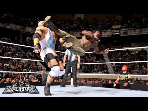 R - R-Truth and Ryback clash on
