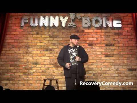 Heroin and Prison:  Comic for Recovery Jay Armstrong