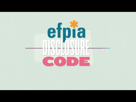 Introducing the EFPIA Disclosure Code