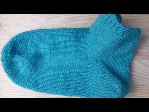 Socken stricken lernen super einfach