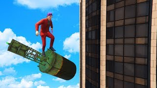 ► TRICK TO SURVIVE ANY FALL!► LEAVE A LIKE FOR MORE GTA 5!• TWITTER - @Slogomanify https://twitter.com/slogomanify• INSTAGRAM - @Slogomanify http://instagram.com/slogomanify• FACEBOOK - https://www.facebook.com/slogomanify• SNAPCHAT - slogomanify• MERCHANDISE - http://slogoman.com• MY CAPTURE CARD - http://e.lga.to/slogo• MY FRIENDS!KWEBBELKOP - https://www.youtube.com/user/kwebbelkopJELLY - https://www.youtube.com/user/JellyYT• CreditsIntro:Electro - Swing  Jamie Berry Ft. Octavia Rose - Delighthttps://www.youtube.com/watch?v=aH5aq4V0Ywk&list=UUUHhoftNnYfmFp1jvSavB-QOutro:Electro Swing  Jazzotron - I Can Swing (Grant Lazlo remix)https://www.youtube.com/watch?v=yniX_HGV0wUhttps://soundcloud.com/jamie-berryhttps://www.facebook.com/flakrecshttps://www.youtube.com/watch?v=TYXHv97kbpsEpidemic Sound - http://bit.ly/1UPtCyxIf you enjoyed the video, you should probably go watch some more!