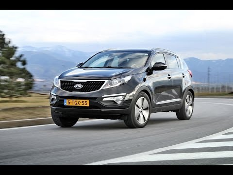 Kia Sportage road test English subtitled