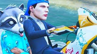 Merkwürdige GTA ONLINE Stunts mit einem Haustier!