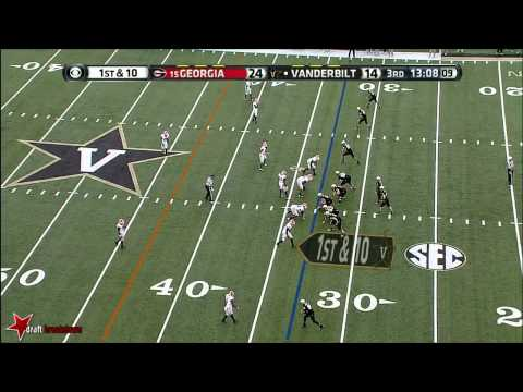 Leonard Floyd vs Vanderbilt 2013 video.