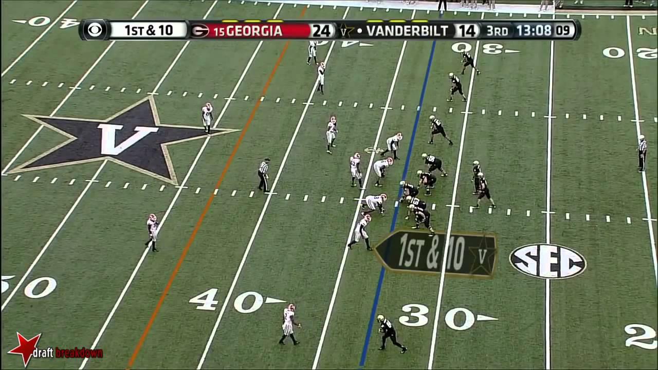 Leonard Floyd vs Vanderbilt (2013)