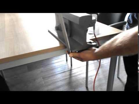 Montage Klemmbügel für Weichenheizung - Mounting clamp for point heating rod.