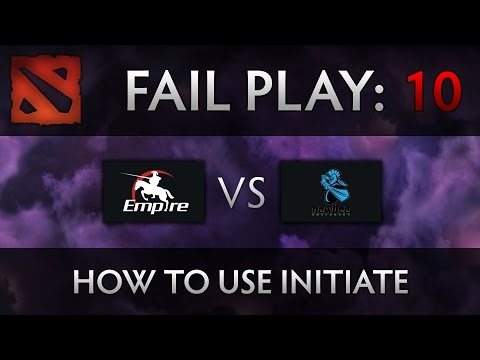 Dota 2 TI4 Fail Play – Empire vs Newbee – How to initiate