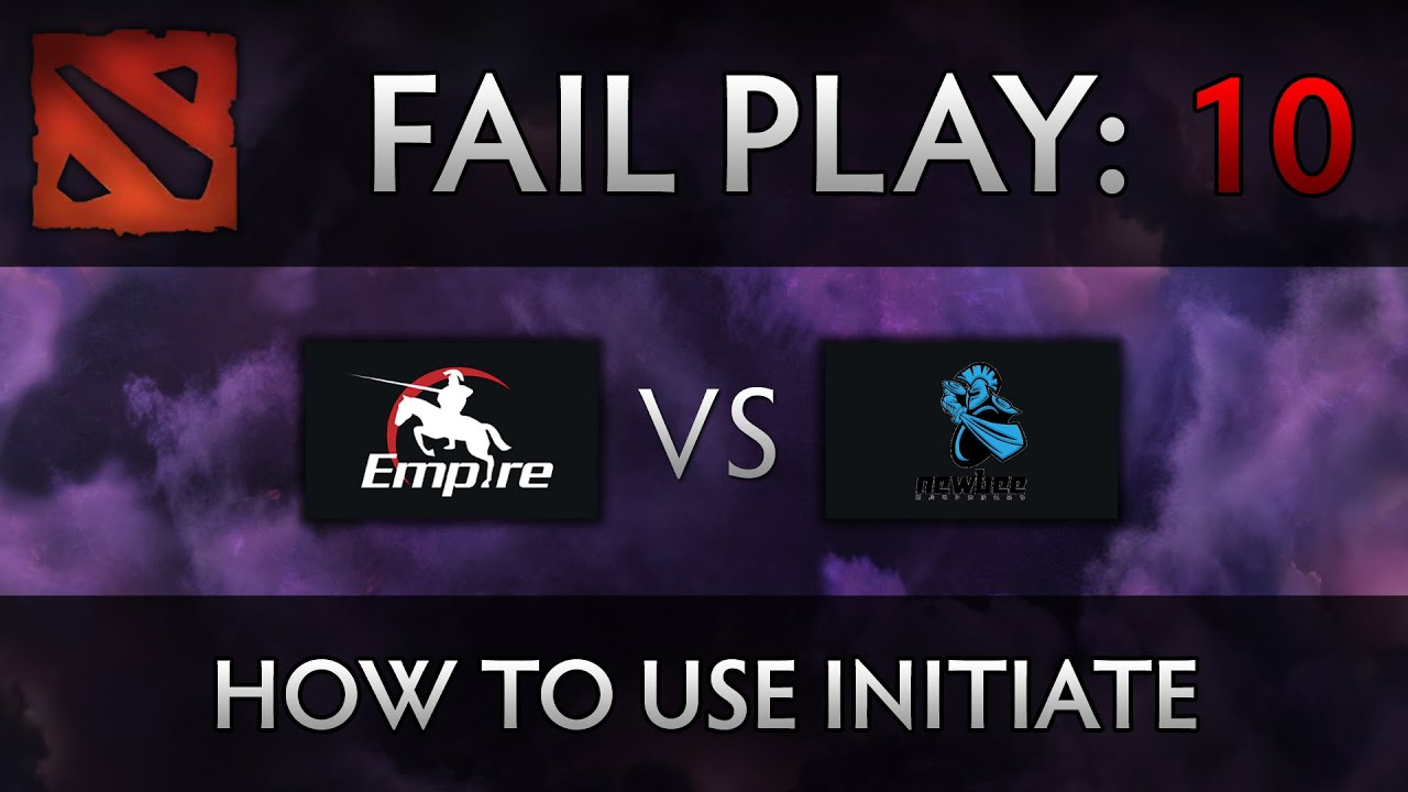 Dota 2 TI4 Fail Play – Empire vs Newbee – How to initiate, xemgame