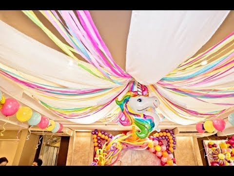 Sage's Magical Unicorn 1st Birthday At Wheatberry Cafe