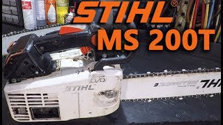 2. Stihl MS200T Overview & Comparison with MS201T-C