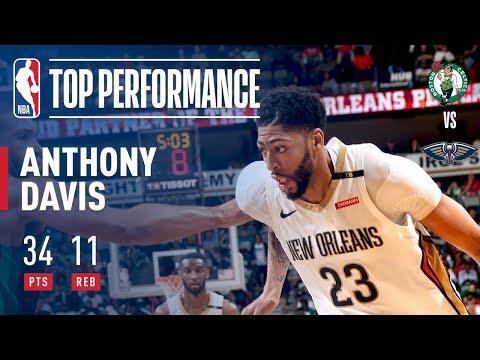 מתברר שגם ההגנה הטובה ב-NBA לא מסוגלת להתמודד עם אנתוני דייויס