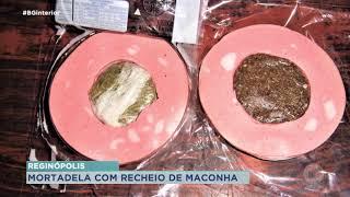 Mortadela recheada de maconha é apreendida na Penitenciária de Reginópolis