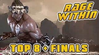 Tekken 7 Fated Retribution  Tournament  S01W02  TOP 8 + Final (P. Ling, Anakin, Toxic Toro + more) Tekken 7 Circuit is ...