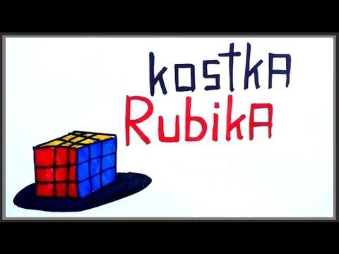 Kostka Rubika by Nauka na Luza